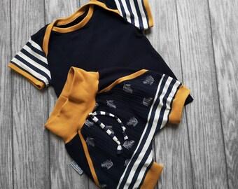 Strampler Handmade Selbst Genäht 50 Girls' Clothing (newborn-5t) 56 Mädchen Mustern Zum Auswahl