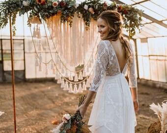 Brautkleider Zweiteiler Etsy De