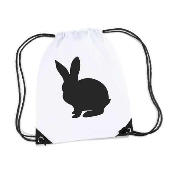 Sac de sport bag gym - silhouette Bunny