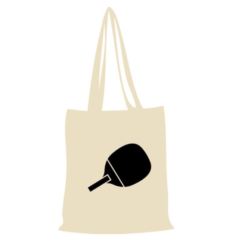 Cotton bag Table Tennis-Nature
