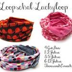 10 Ebook Loopschal Luckyloop  für Klein und Groß