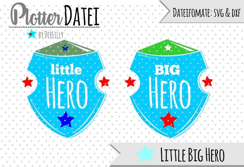 033 Plotterdatei Little Big Hero image 0