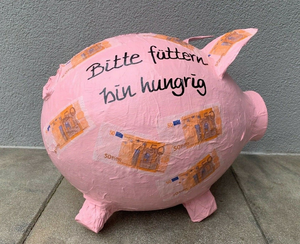 piggy bank xxl 50 birthday gift money gift card box money