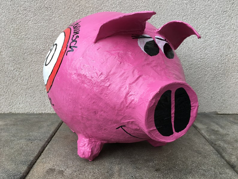 piggy bank xxl money gift letterbox card box birthday