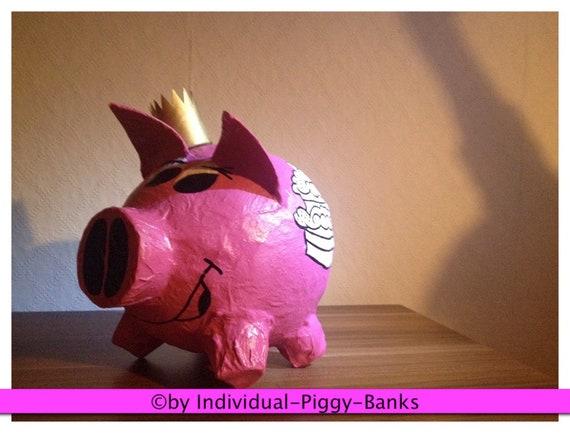Sparschwein Shopping Queen Geldgeschenk Geburtstag Etsy