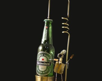 Mini Kühlschrank Heineken : Bague heineken etsy
