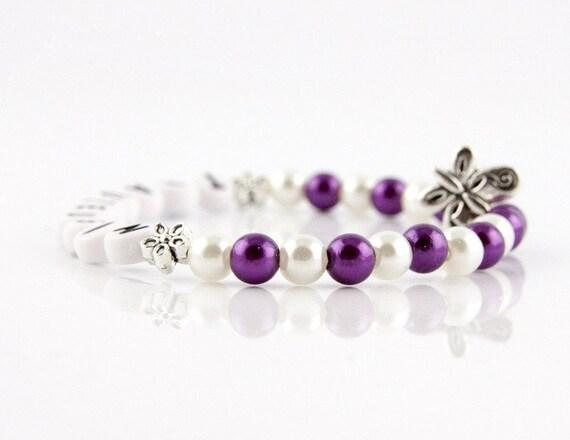 Perlenarmkettchen perlas pulsera dama de honor boda dama de honor