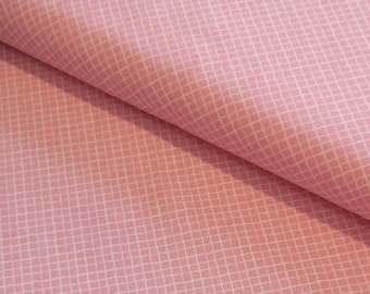 Baumwolle Rauten rosa
