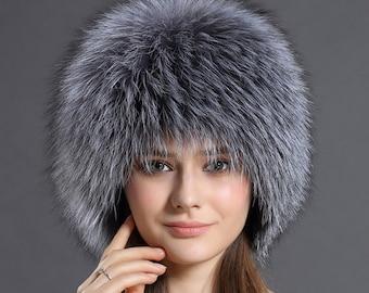 de3460b0e Fox fur hat   Etsy