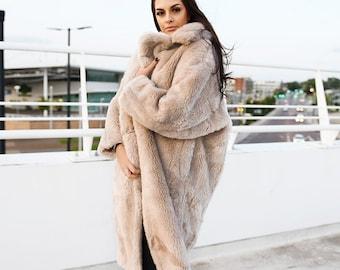 cd0bd25dbecf6 Beige Sheep Wool Teddy Bear Coat