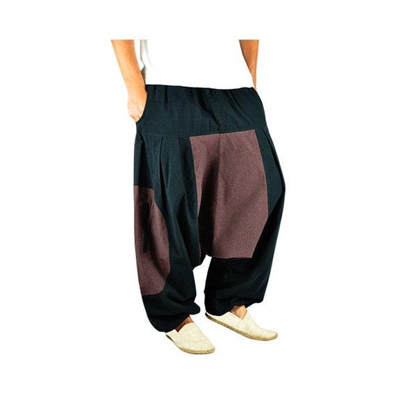 più economico e9be0 e6b77 Virblatt pantaloni alla turca pantaloni cavallo basso Wasser   Etsy