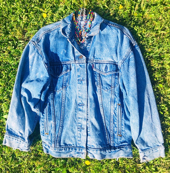 80's Levi's Jean Jacket, 80's Levi's Denim Jacket,