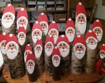 Holz Weihnachtsmann Etsy