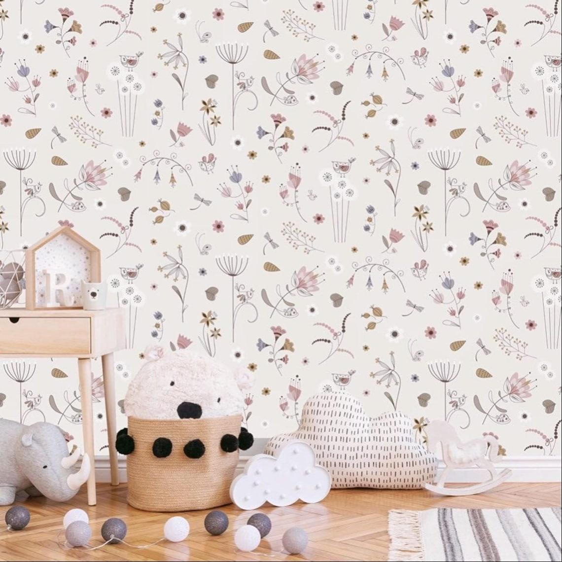 Lutin Petit Pois - 14 papiers peints design pour votre intérieur - La minute déco