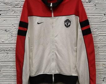 49d84091 VTG Nike Manchester United Track jacket sz L