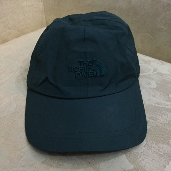 Vintage The North Face GORE-TEX Deep Gray Waterproof 6-Panel  9198d8801e1
