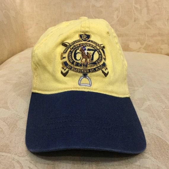 ... Vintage Polo Ralph Lauren Crest Logo Embroidered Flex Fits Hat Cap Size  L-XL newest ... 66596638fc98