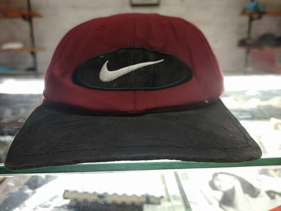 rare vintage des années 8090 s casquette snapback de Nike
