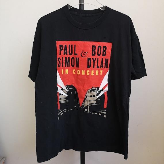 Vintage Paul Simon Bob Dylan Concert T shirt size
