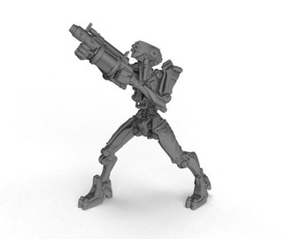 Dungeons and dragons D/&D tabletop miniatures Printed Obsession DnD miniatures Grenade Launcher Drone 2