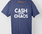 Cash From Chaos – T-Shirt-Blue