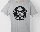 Skullbucks – Starbucks Skeleton – T-shirt
