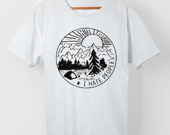 I hate people - Adventure - T-Shirt