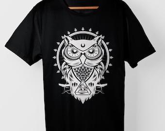The Owl-T-shirt
