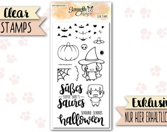 """Clear Stamps """"Happy Halloween"""""""