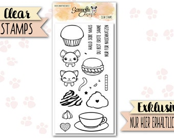"""Clear Stamps """"First Cream"""""""