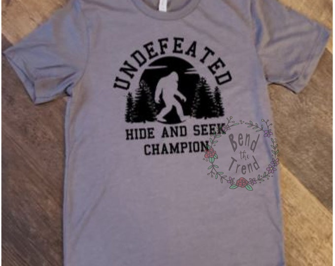 Hide /& Seek Champ T-Shirt