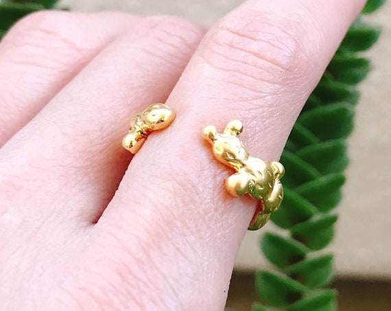 Prickly Pear Ring (Gold Vermeil) Sterling Silver fruit cactus lover