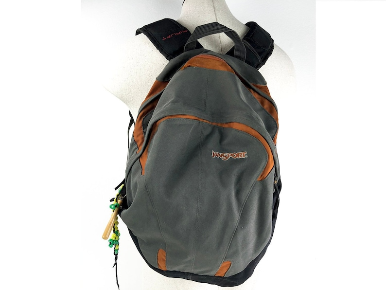 f5d582946 Vintage Jansport Backpack Large 90s Vintage Jansport Orange | Etsy