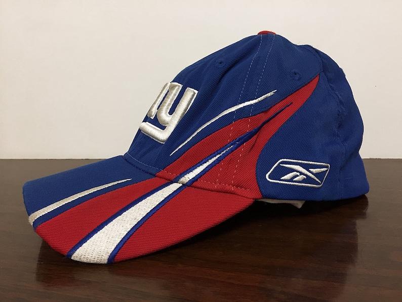 7a77b1a4330 New York Giants Cap NFL Football Vintage Trucker Hat Dad Hat