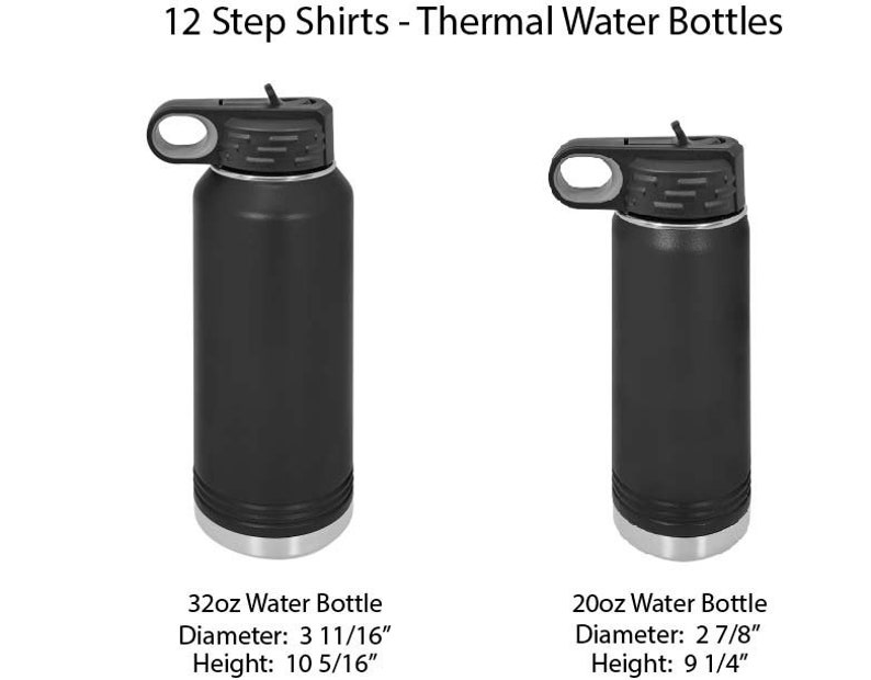 Personalized Thermal Water Bottle Narcotics Anonymous 20oz coming soon! 32oz Nopioid