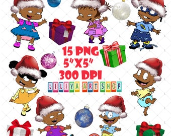 christmas afro rugrats clipartrugrats png clipartbabies of color sets rugrats clipartrugrats svgblack baby clipartafro baby svg - Rugrats Christmas