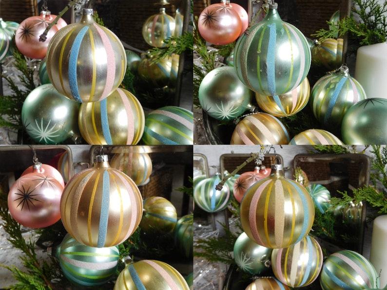 Einzelne Christbaumkugeln.Nostalgic Christmas Tree Balls Christmas Balls Tree Balls Christmas Christmas Tree Christmas Tree Christmas Tree Vintage