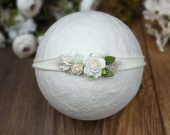 Flower hairband for growing up, hairband, flower band, baby, girl