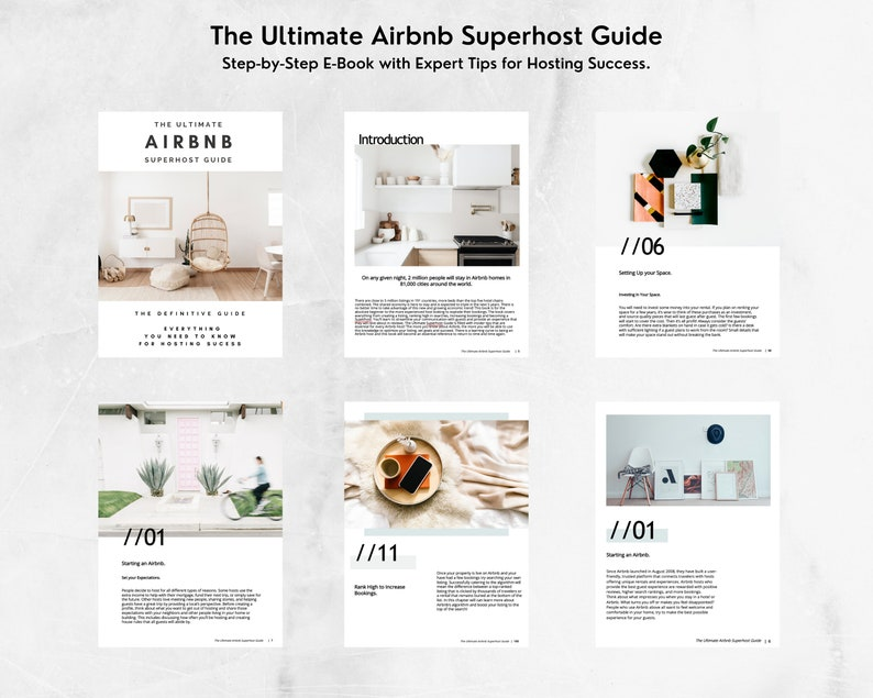 Ultimate Airbnb Superhost Guide  2 Modern Welcome Books 100% image 0