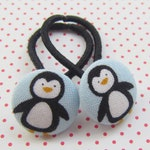 Penguin Hair Rubber Set