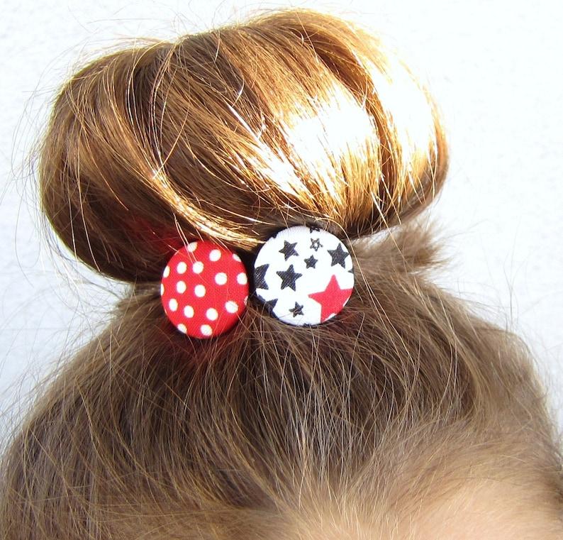 Star & Polka Dots Hair Rubber Set image 0