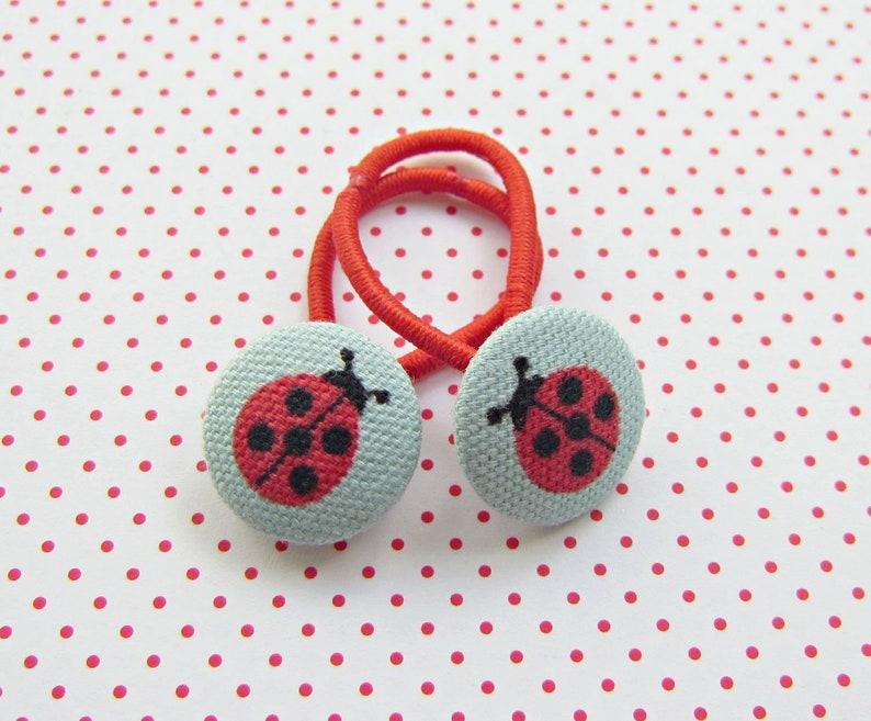 Ladybug Haargummi Set Girl image 0