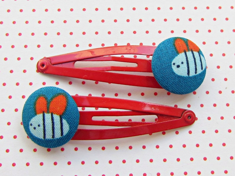 Lucky Beetle Hair Clips 2 Set image 0
