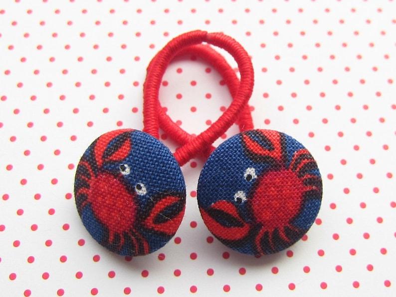 Beach crab KARL children's haargummi image 0