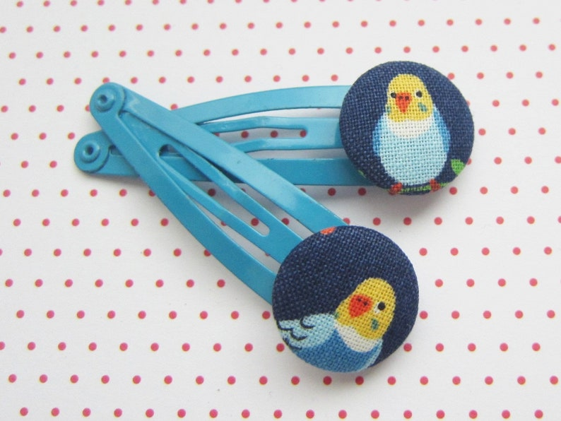 Bird Children's hair clips set Birdy image 0