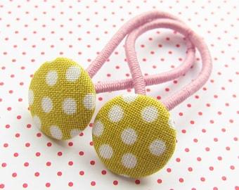 Dots Children's Hair Rubber Set YELLOW