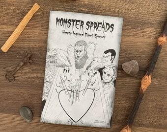 MONSTER SPREADS ZINE - Horror Inspired Tarot Spreads