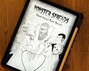 MONSTER SPREADS ZINE (Digital) - Horror Inspired Tarot Spreads