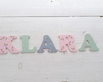 Holzbuchstaben kinderzimmer | Etsy