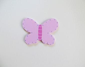 Schmetterling Holzmotiv Kinderzimmer passend zu Holzbuchstaben